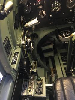 Spitfire Simulator Cockpit Left Side