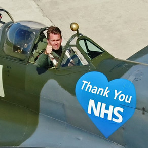 VE DAY 75 FLIGHT FOR VETERANS AND THE NHS.
