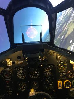 Spitfire Simulator Cockpit Gunsight