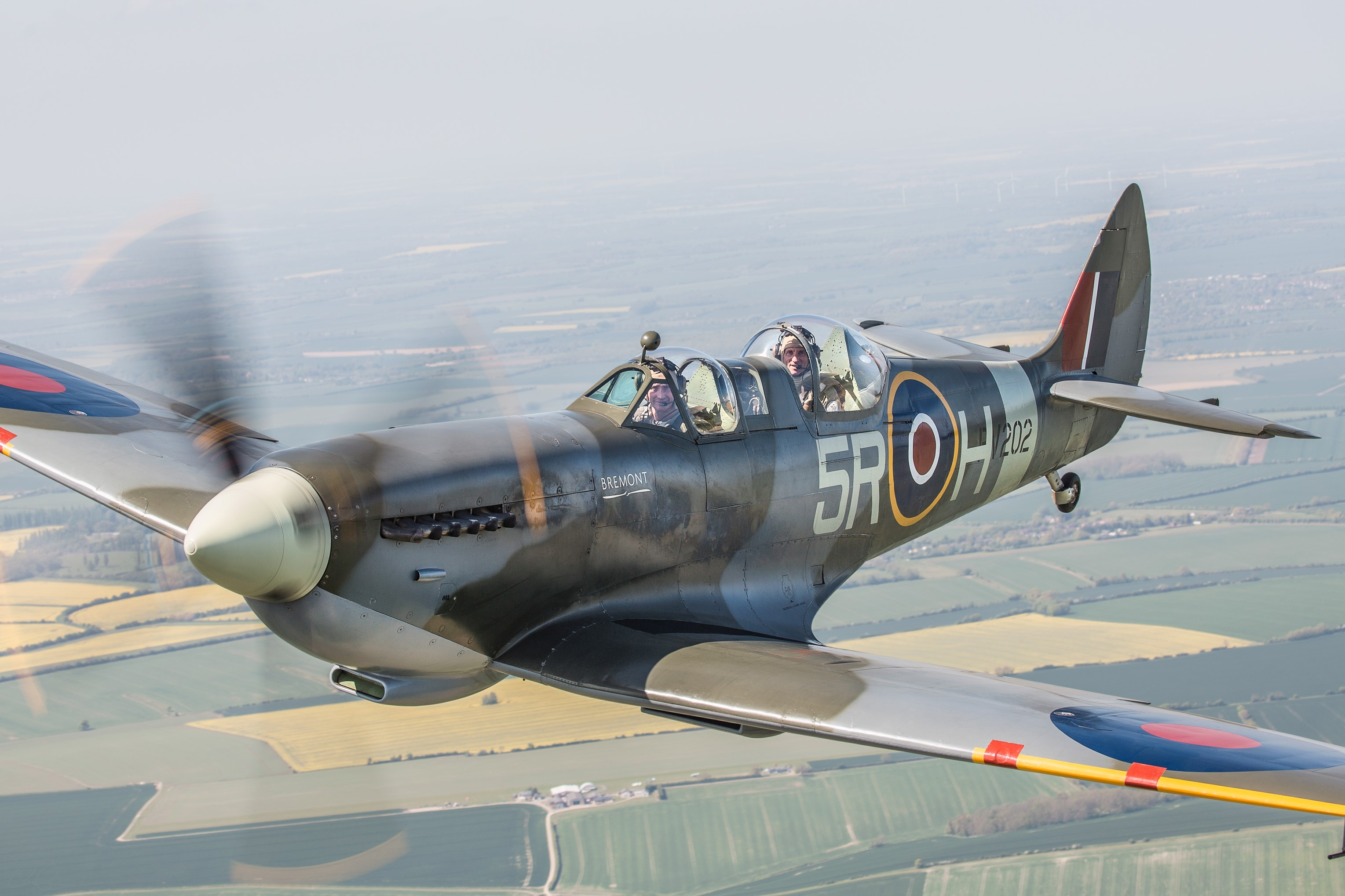 PV202 | Spitfire Flight Experiences from Goodwood Aerodrome, UK