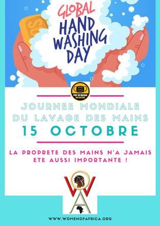 Journée lavage de mains