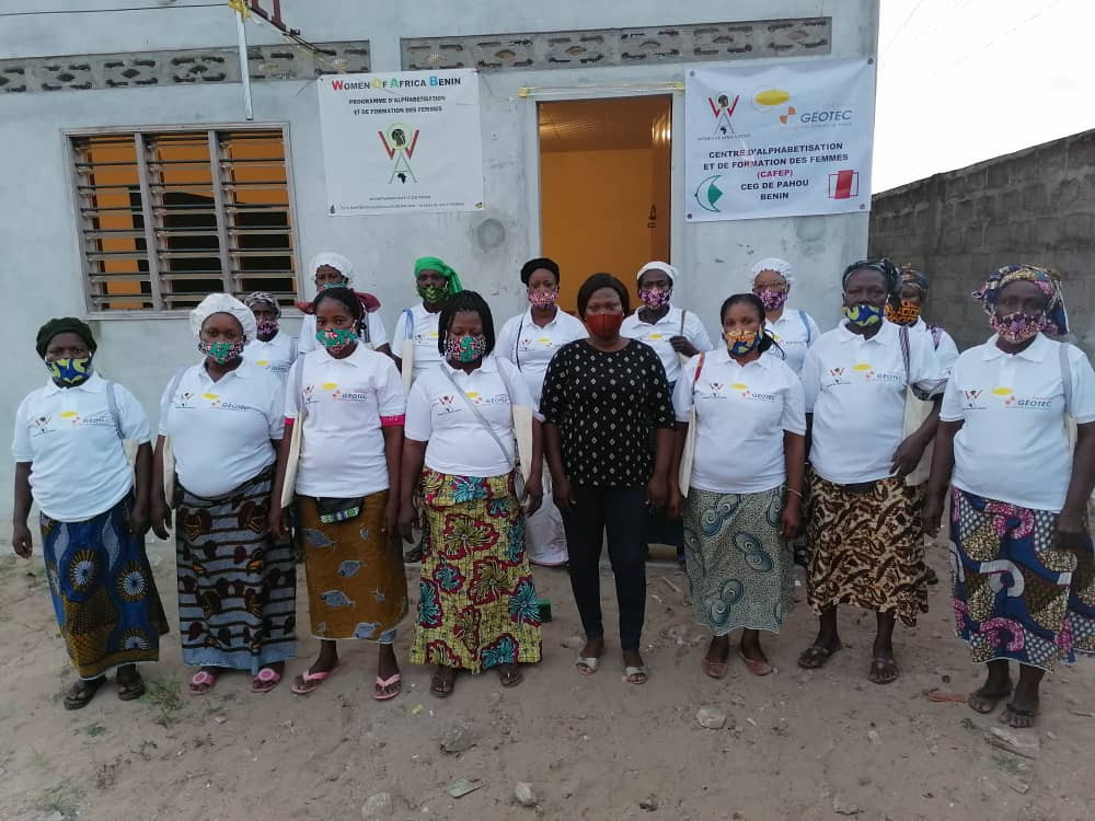 Alphabétisation des femmes au Bénin avec WOA