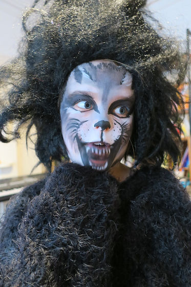 Wolf facepaint