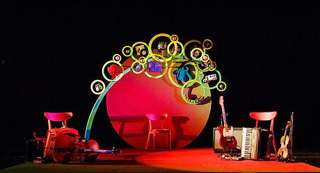 Apple John stage set for Alibi Theatre Productions
