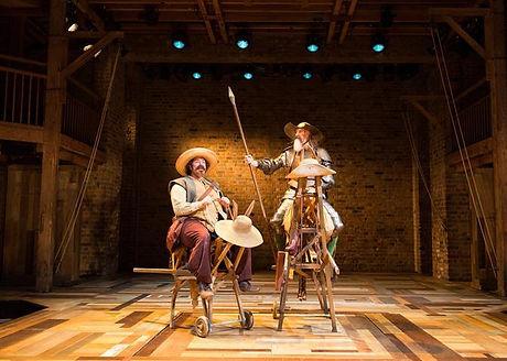 Kate Crawfurd Scenic Art Don Quixote RSC