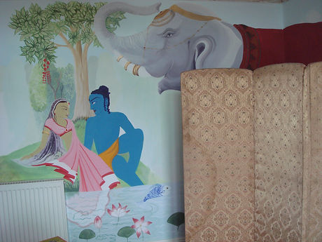 Indian wall mural