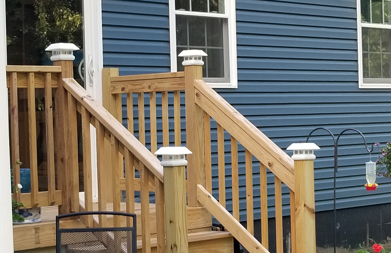 Finished Pack Porch Steps