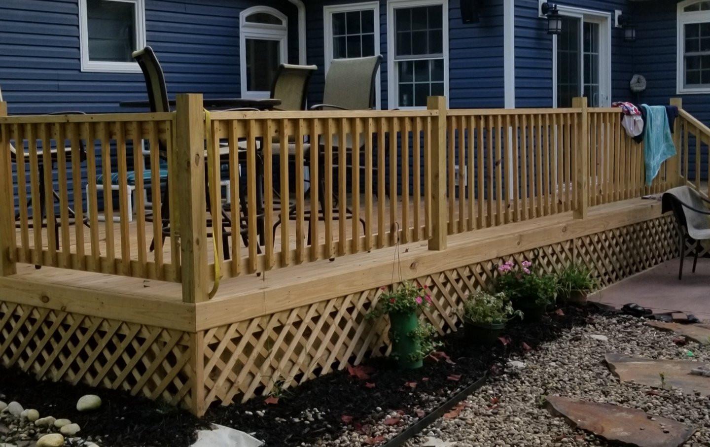 Backyard Deck & Patterb