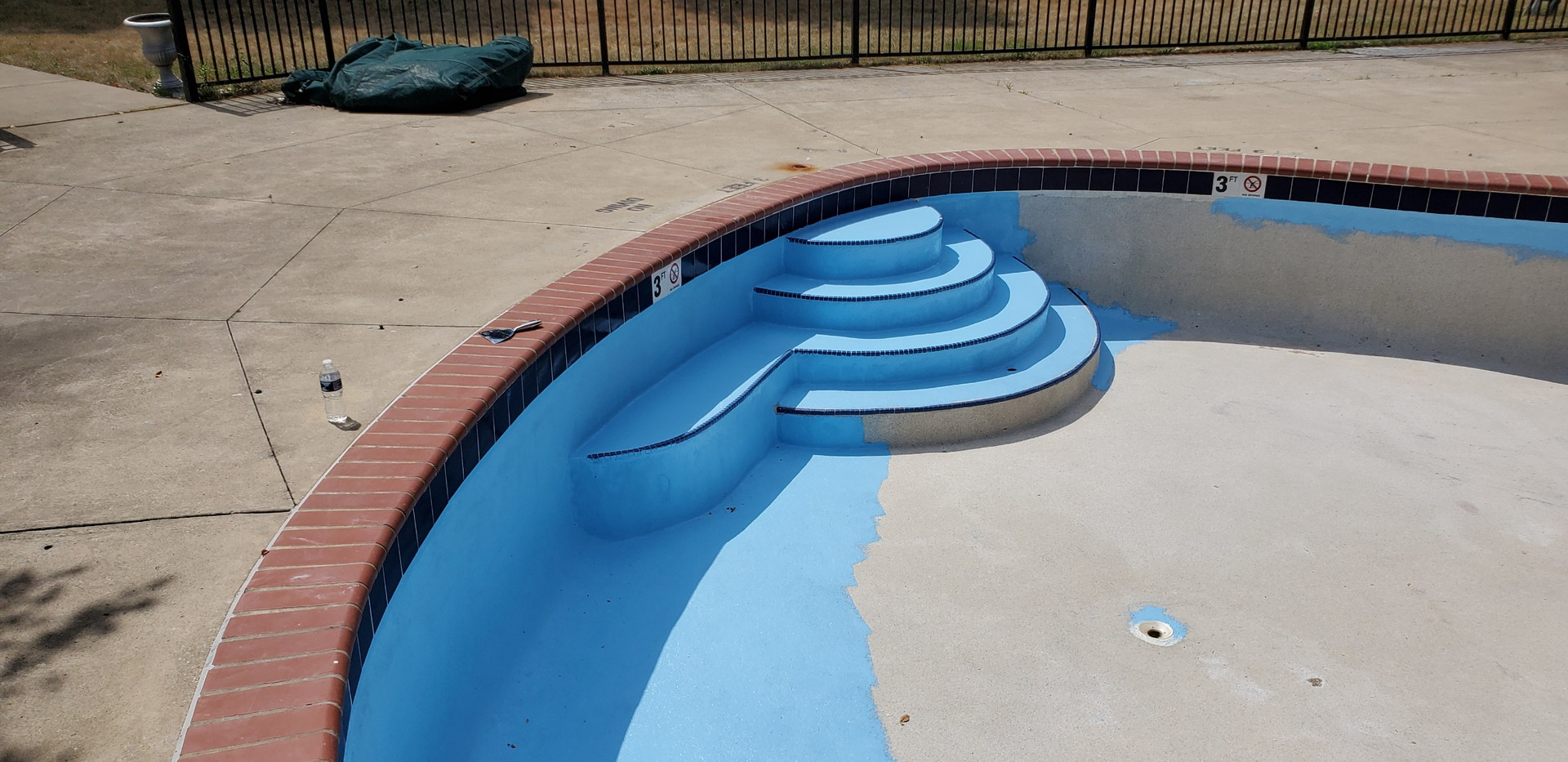 Pool Restoration Before & After