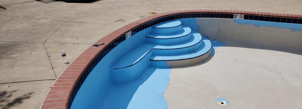 Pool Restoration Before & After