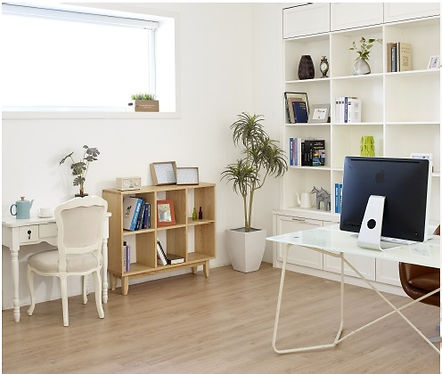 nice home office built in space - natura
