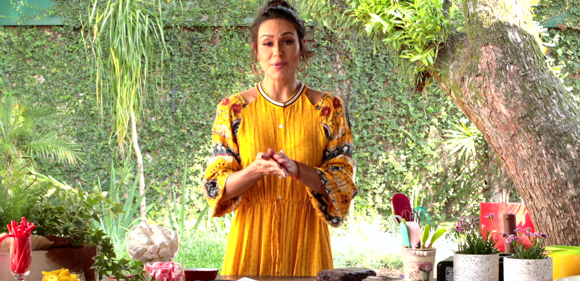 Nadja Haddad para Fini - Brownie de uva