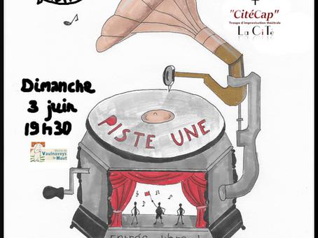 """""""Piste une"""" Spectacle d'improvisation"""