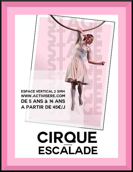 stage cirque et escalade confinement 5.j
