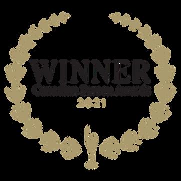 CanadianScreenAwardsWinnerLaurel_GoldBla