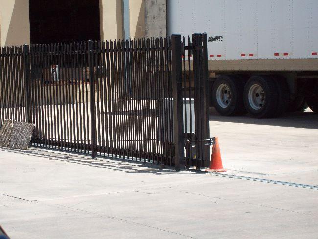 Custom Iron Gate w/Operator