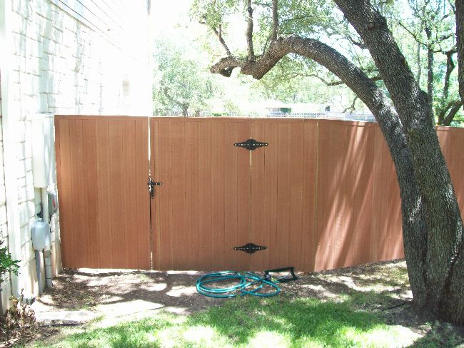 Standard Vertical Privacy Fence