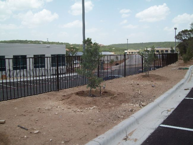 5ft Iron Retaining Fence