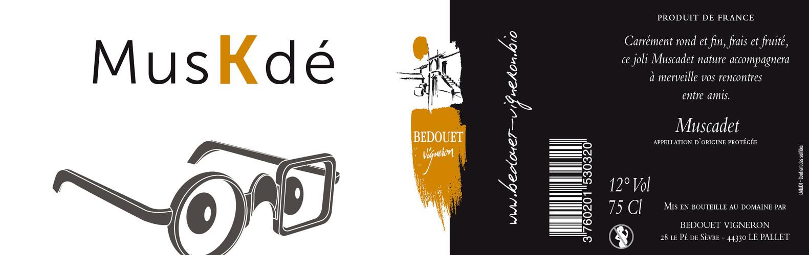 Muskdé Bedouet vigneron BIO