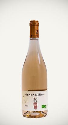 Bedouet vigneron, Du Noir au Blanc, gamay rosé bio