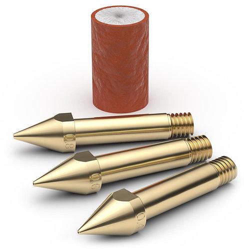 Brass ABC kit - 0.4-0.6-0.8mm