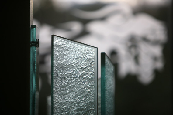 John Snow House foyer sculpture