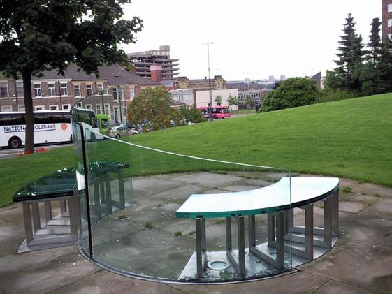 Civic Centre Public Seating Gateshead