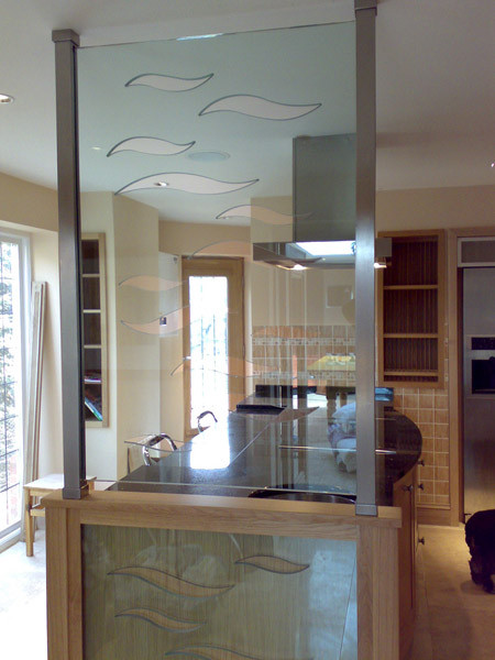 Waterjet kitchen screen