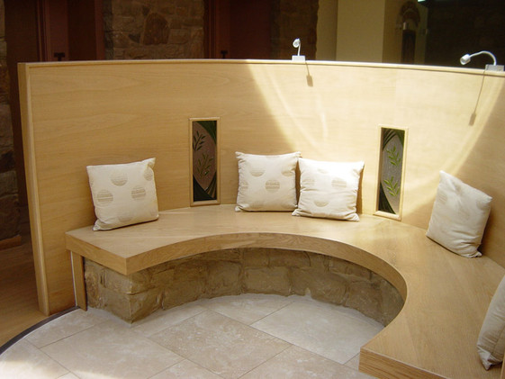 St Clares Convent seating