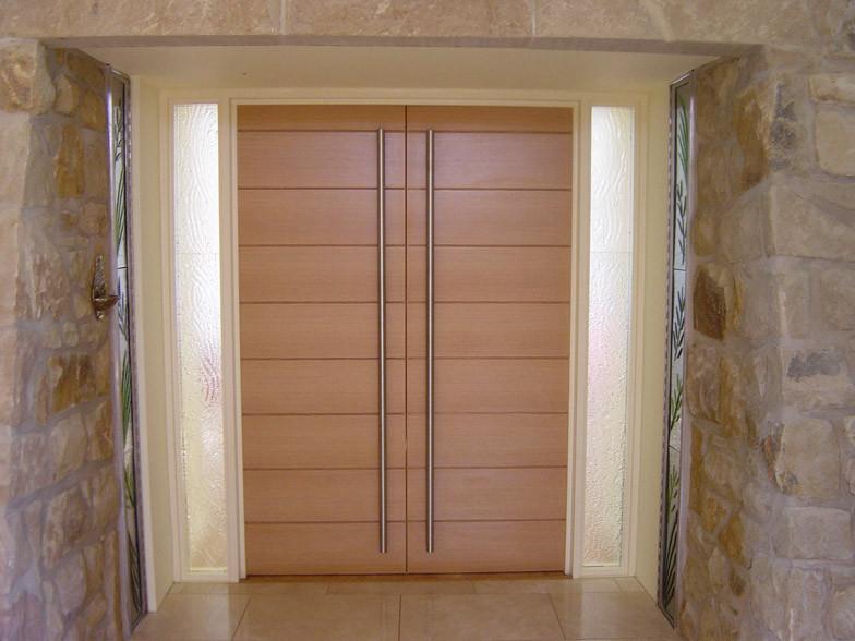 St Clares Chapel entrance doors