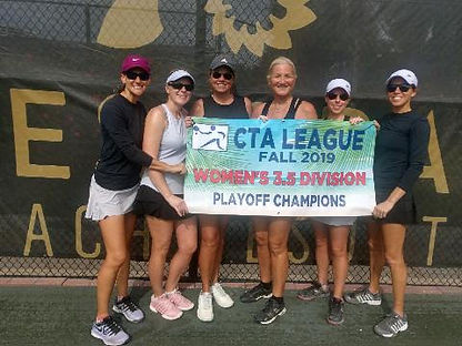 CTA Womens 3.5 Playoff Winner Naples Gra