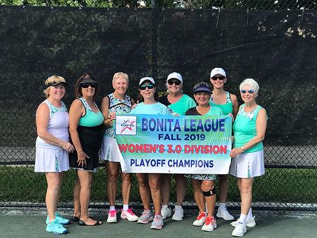 Bonita Women's 3.0 Playoff Winner Lighth