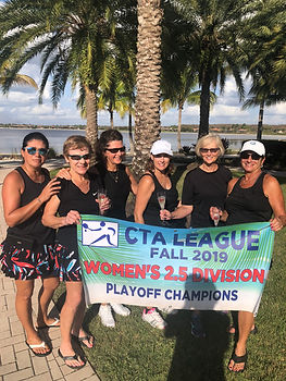 CTA Womens 2.5 Playoff Champ Quarry Gems