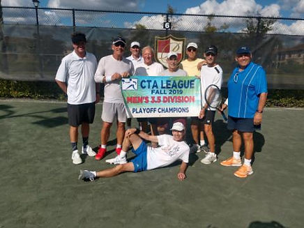 CTA Mens 3.5 Playoff Champion - AZ Cambi
