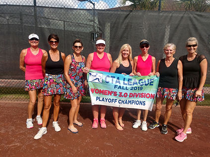CTA Womens 3.0 Playoff Champion Quarry F