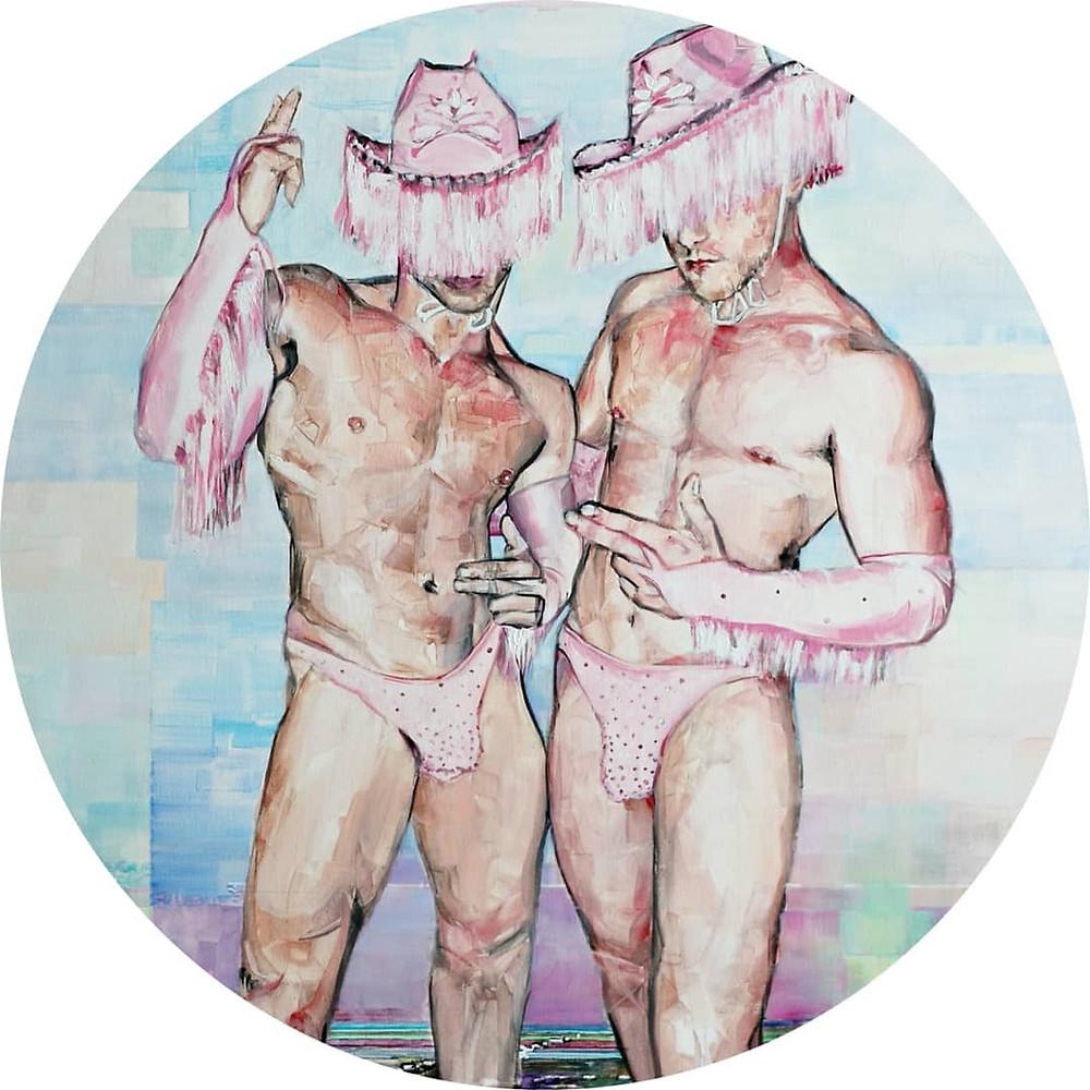 Elia Tomás, Electric Cowboys (Work in progress), 2021.