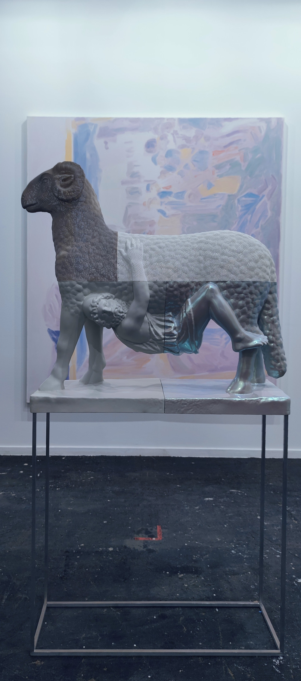 Oliver Laric, Ram with human, 2021.