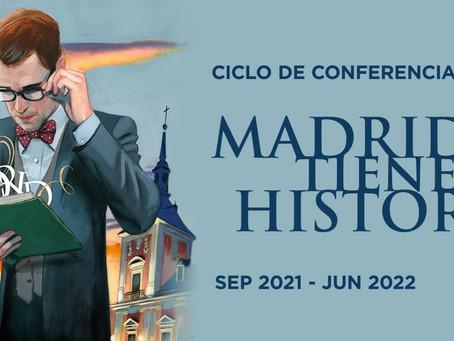 El Ayuntamiento de Madrid celebra la historia de la ciudad con un ciclo de conferencias.