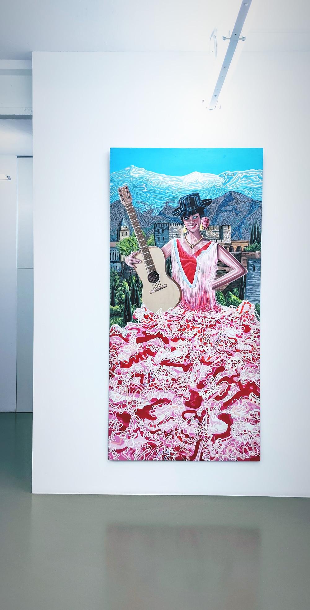 La exposición ¡Acción y efecto de topetar', de Costus, en la Galería Maisterravalbuena.