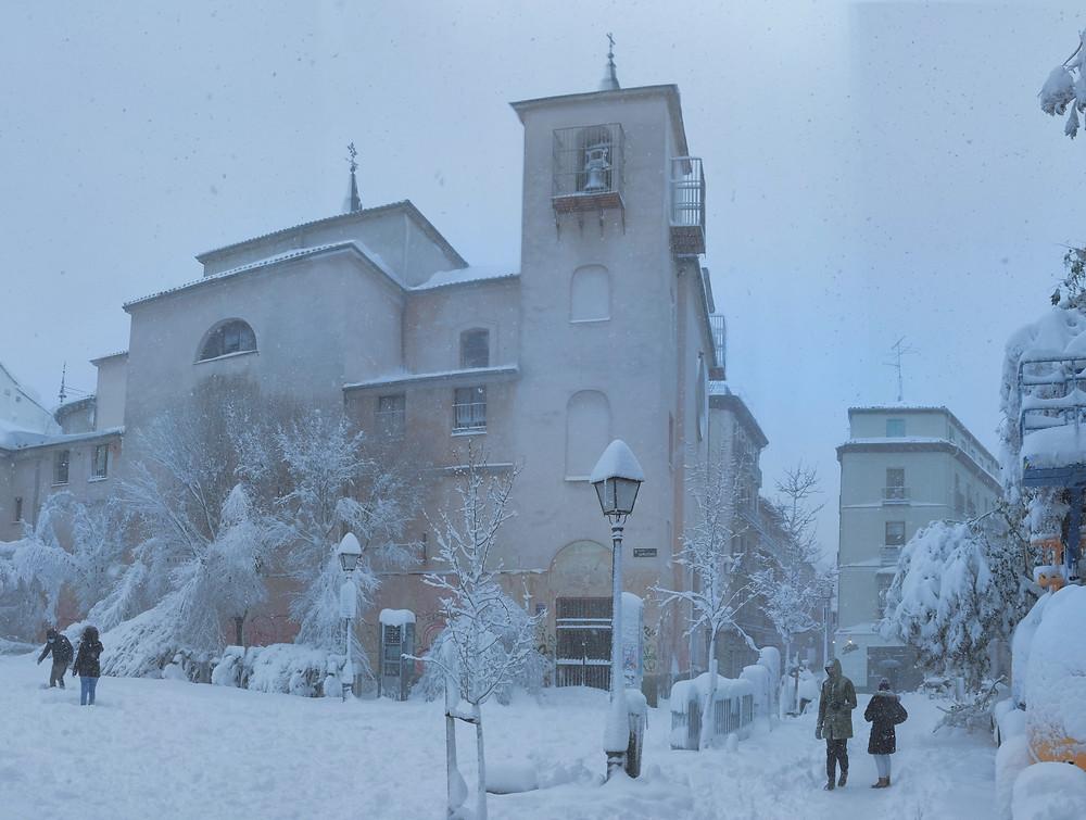 La Iglesia de San Ildefonso espera por sus feligreses de vuelta el domingo 10 de Enero de 2021.