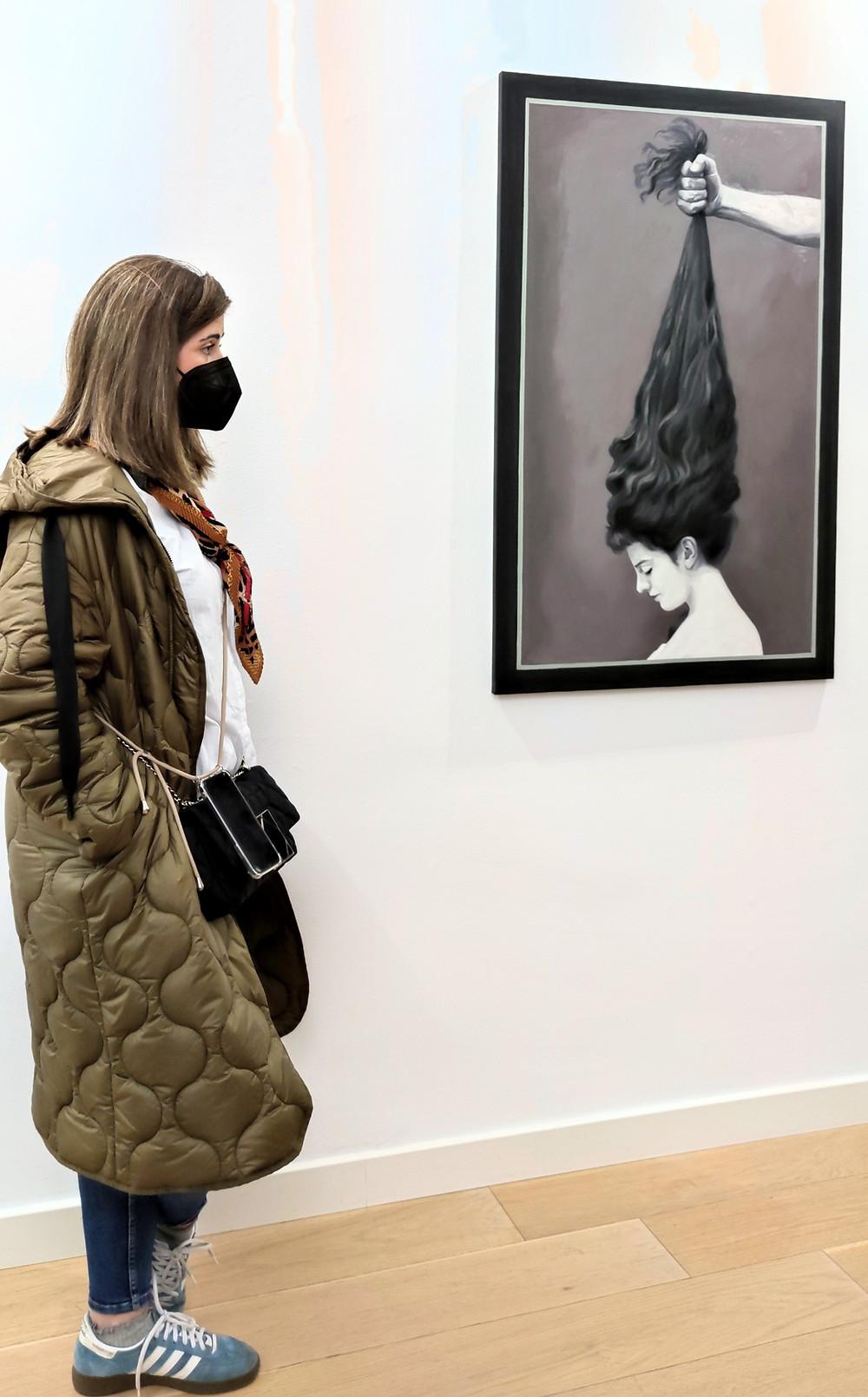 Exposición de Cristina Toledo en 'La Cámara Oscura'.