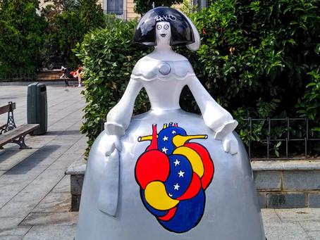 Antonio Azzato: un venezolano llena de arte las calles de Madrid.