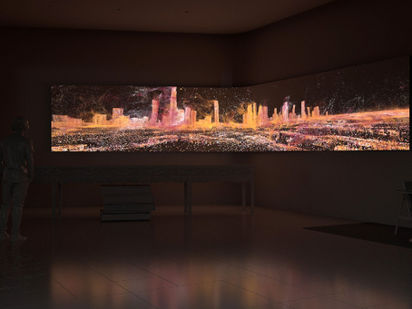 Nace el 'Data Art': Refik Anadol expone en Dubai la primera exhibición éste estilo.