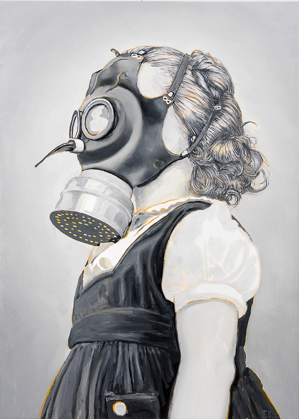 Sergio Frutos, Children's Gas Mask, 2021.