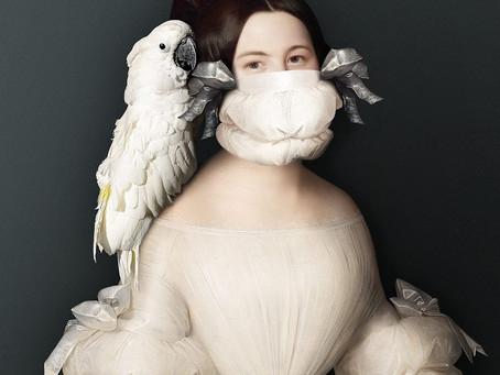 Sabine Pigalle adapta retratos históricos a estos tiempos de pandemia