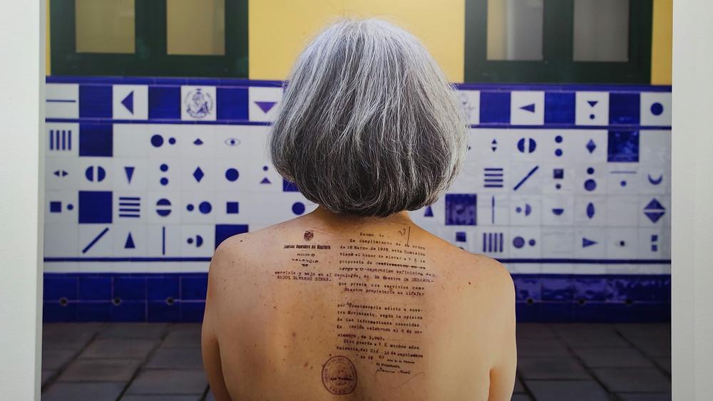 Art al quadrat, Carmen en la piel de Amparo Giner, 2021.