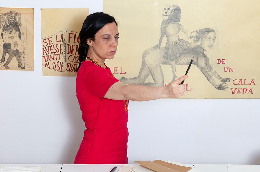Sandra Vásquez de la Horra. Photo: Cordia Schlegelmilch
