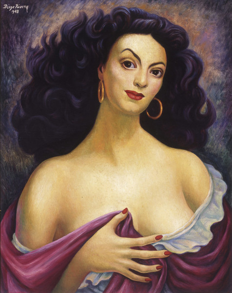 Maria Felix x Diego Rivera