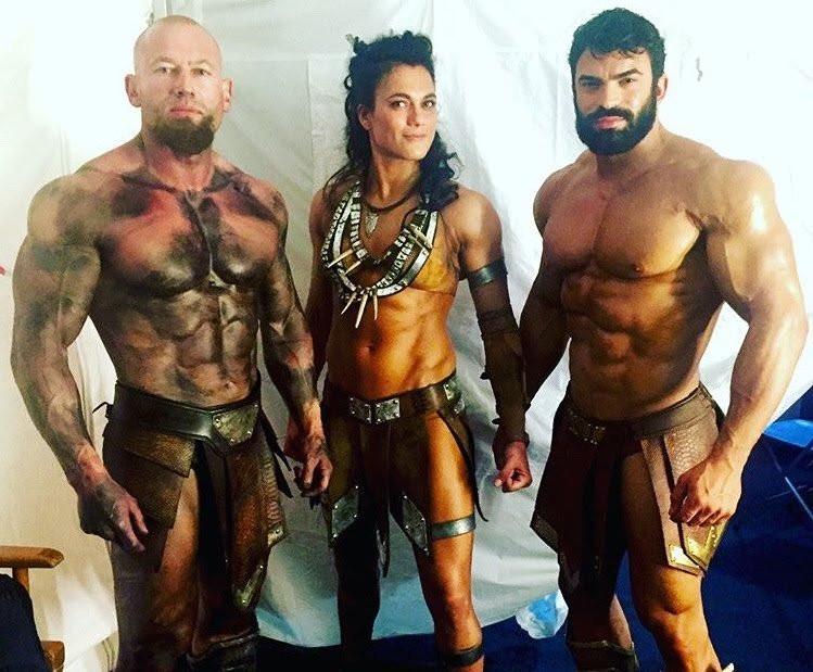 Ares, Artemisa y Zeus en 'La Liga de la Justicia'.