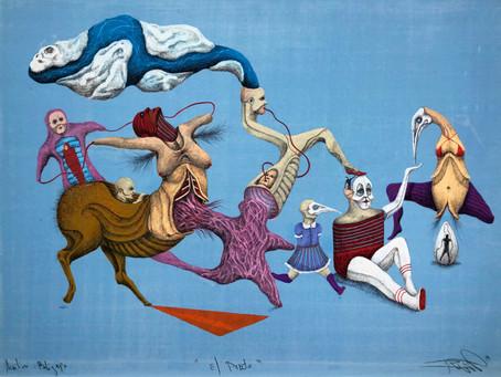 El chileno Iván Villalobos expone su 'Metamorfosis Neofigurativa' en la Perve Galeria de Lisboa.